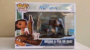 Moana & Pua on Boat Funko Pop Rides (Rides 62)