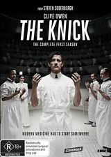 THE KNICK THE COMPLETE FIRST SEASON DVD REGION 4 WITHOUT PLASTIC WRAP