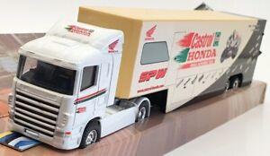 Corgi 1/64 Scale TY86601 - Scania Race Transporter Castrol Honda