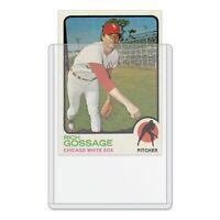 50ct Top Loaders for Sports Trading Card: baseball, football, hockey 3x4