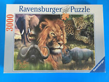 """RAVENSBURGER 3000 PIECE JIGSAW PUZZLE """"THE BIG FIVE"""" BRAND NEW"""