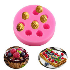 3D Raspberry Silicone Fondant Mold Cake Decorating Chocolate Baking Mould Tools