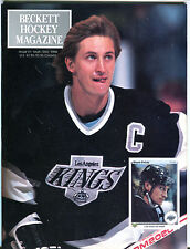 Beckett Hockey Magazine September/October 1990 Wayne Gretzky EX 080116jhe