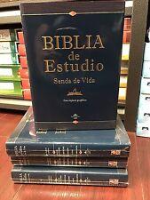 Bíblia De Estudio Senda De Vida Reina Valera 1960 Tapa Dura WILFREDO CALDERON