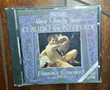 Monteverdi: Varie Musiche Sacre - Ensemble Concerto (CD, 2013)