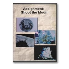 Assignment: Shoot the Moon NASA Moon Launch Preparations Documentary DVD - C811