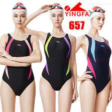 YINGFA 657 WOMEN'S GIRL'S COMPETITION RACING TRAINING SWIMSUIT SWIMWEAR ALL SIZE