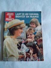 JOUR DE FRANCE 1983 - Diana Caroline Albert Johnny Sardou Drucker Taittinger