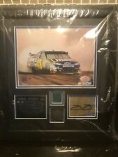 Jimmie Johnson  Signed Autograph Phoenix win Mounted Memories + Signed Hero Card