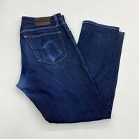 AG Adriano Goldschmied Denim Jeans Mens 36X32 Blue Straight Leg Medium Washed