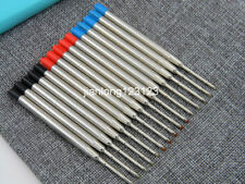 5pc red and 5pc Blue 5pc black Fit For Parker style metal Ballpoint Pen Refills
