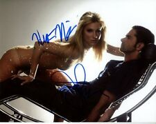 HEATHER MORRIS JOHN STAMOS Signed GLEE BRITTANY S. PIERCE DR. CARL HOWELL Photo