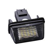 2 pcs 18 LED SMD License Number Plate Light Lamp for Peugeot 206 Citroen C3 K9I6