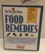 THE DOCTORS BOOK OF FOOD REMEDIES NEWEST DISCOVERIES USED HARDCOVER BOOK
