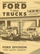 Ford 1951 Truck Owner's Manual 51 Pick Up