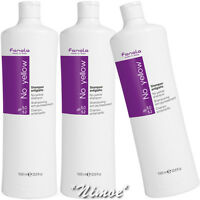 No Yellow Shampoo 3 x 1000ml Fanola ® grey, super-lightened or decoloured hair