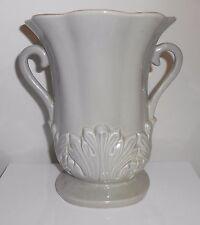 "Red Wing Vase #1357 Gray Grey Vintage 1949 7.5"""