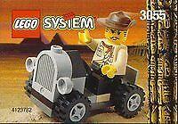 LEGO Adventurers 3055 Adventurers Car