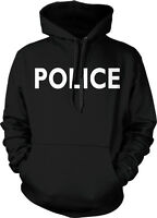 POLICE - Cop Police Officer Law Enforcement Pride Hoodie Pullover