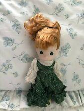 "1994 Precious Moments Doll 8"" red hair  blue eyes needs a new hairdo :)"