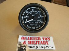 Willys Jeep M38 M38A1 M170 M151 Over seas style military speedometer