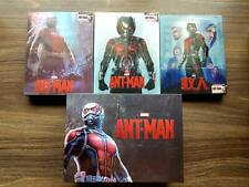 Ant-Man (3D+2D Blu-ray SteelBook) (Blufans#32) [China] One Click Brand New