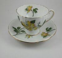 Vintage Royal Standard Fine Bone China Tea Cup and Saucer - England Camillia