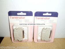 2 NEW HD 50pin SCSI II Ext Male Passive Terminator HD50 For Tape Drive & Library