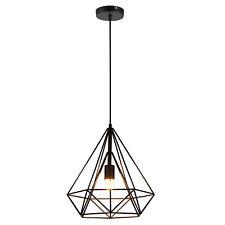 [lux.pro] Lámpara de techo en negro [37cm x 40cm], lámpara colgante