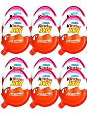 New Kinder Joy with Surprise Eggs in Toy & Chocolate For Girls - 12 x Eggs India