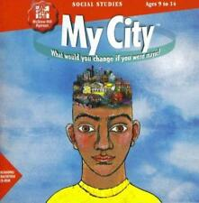My City PC MAC CD kids play role of major leader social studies simulation game!