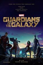 "Marvel GUARDIANS OF THE GALAXY 2014 Advance Teaser DS 27x40"" Movie Poster C Pine"