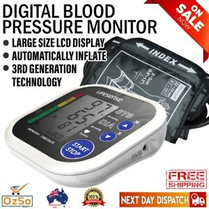 New Digital Electronic Upper Arm Blood Pressure Monitor Automatic MEMS