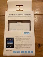 Kit de conexión HDMI & AV para iPad