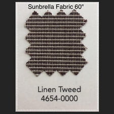 "Sunbrella Fabric 60"" Linen Tweed #4650 By the Yard"
