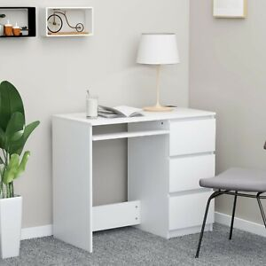 Office Computer Desk Workstation Desktop PC Study Table with Storage Drawers