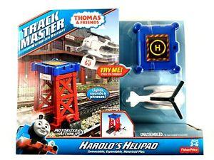 Thomas the Train TrackMaster HAROLD'S HELIPAD Fisher Price Thomas and Friends