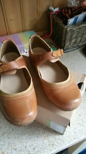 Timberland Bayden MJ Womens Leather Mary Jane Sandal Shoes 24643 Tan UK Size 7