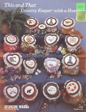 This & That Country Keeper With A Heart 1985 Yvonne Thorp Spinning Wheel #124
