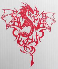 dragon devil monster stickers/car/van/bumper/window/decal code 5261 RED