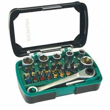 Hitachi 750362- Box con Minicricchetto bussole e inserti 24pz.