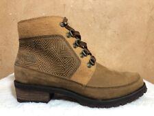 The North Face Bridgeton Lace MM Women's Brown Winter Boot Waterproof Size 9