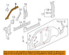 Cadillac GM OEM 17-18 XT5-Fender Liner Right 84182806