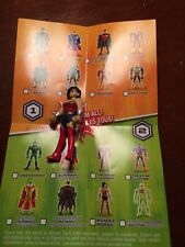 CARTOON NET DC JUSTICE LEAGUE ACTION MIGHTY MINIS WONDER WOMAN S2 LOOSE UNUSED