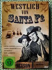 WESTLICH VON SANTA FE SEASON 1 - KULT WESTERN DVD MIT 16 EPISODEN AUF 4 DISC