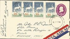 J) 1959 UNITED STATES, POSTAL STATIONARY, WILDLIFE CONSERVATION, WHOOPINGS CRANE