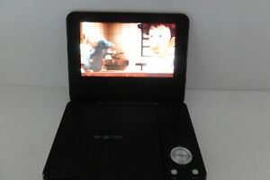 "Bush DP7318 Silver Portable DVD Player (7"")"