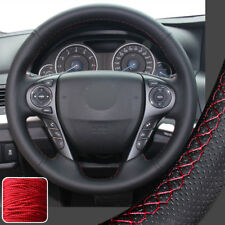 Hand Sew Steering Wheel Cover DIY Wrap for 2013 2014 2015 2016 2017 Honda Accord