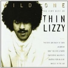 THIN LIZZY - WILD ONE-THE VERY BEST OF  CD 19 TRACKS CLASSIC HARD ROCK/POP NEW!