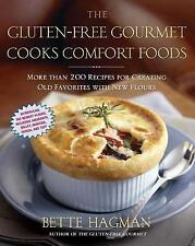 The Gluten-Free Gourmet Cooks Comfort Foods: Creating Old Favorites-ExLibrary